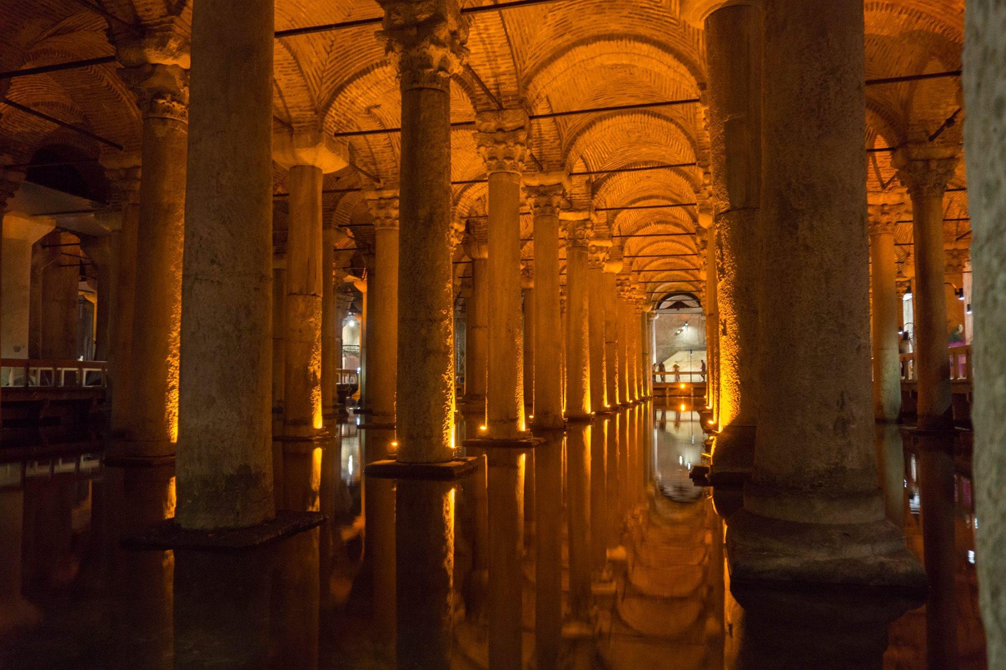 Basilica Cistern, Istanbul (September 2016)