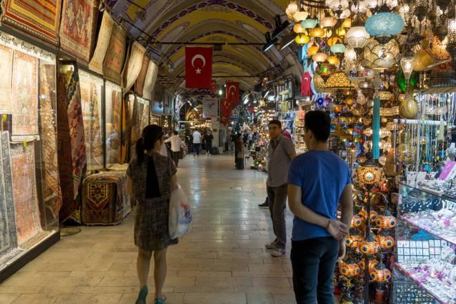 Inside Grand Bazaar, Istanbul