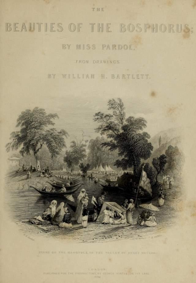 The Beauties of the Bosphorus (William H. Bartlett, 1838)