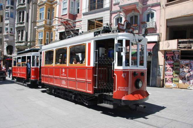 Historic Tram, Istanbul