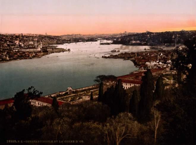 Haliç (Golden Horn), Istanbul, 1890s