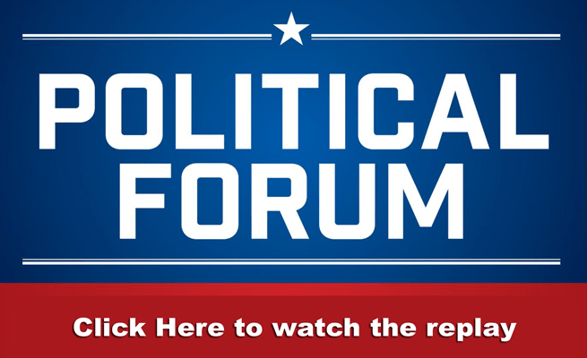 Click this image to watch the Political Forum replay