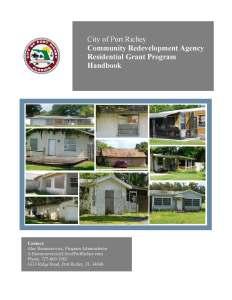 Grant Handbook Cover