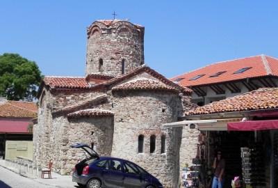 Old church in Nessebar