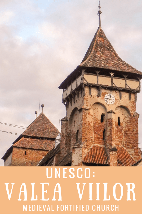 UNESCO: Valea Viilor Medieval Fortified Church Romania