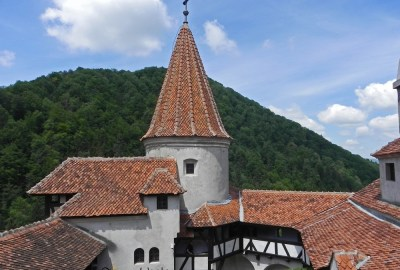 Bran Castle Courtyard