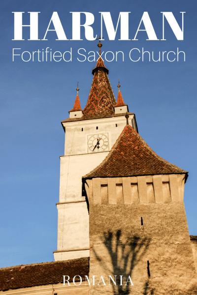 Harman Fortified Saxon Church Brasov Romania