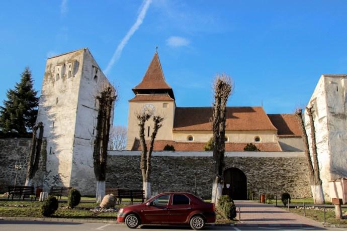 Ghimbav Fortified Saxon Church Brasov Romania