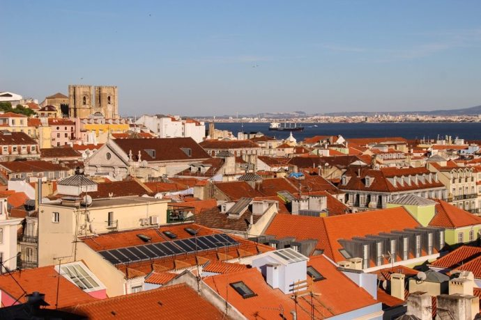 View of Lisbon Portugal