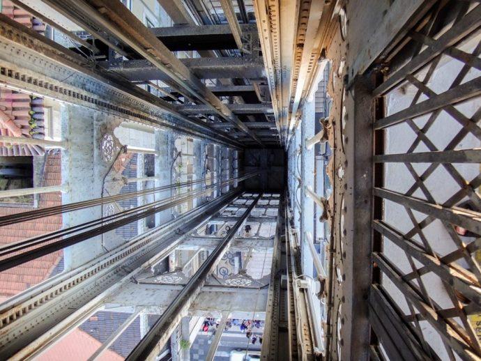 Santa Justa Lift, Lisbon, Portugal
