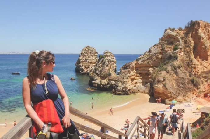 Praia do Camilo  | 6 Best Places to Visit in Lagos, Portugal