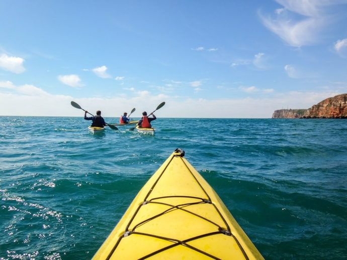 Sea Kayaking Bulgaria, trip to Kavarna, Bulgaria