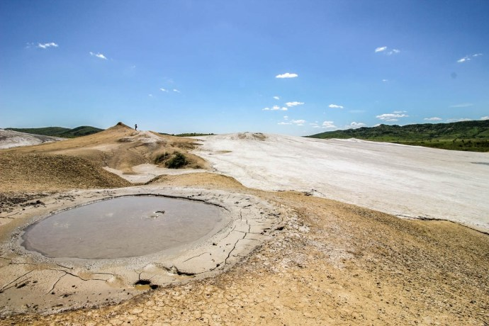 Mud Volcanoes, Buzau County, Romania