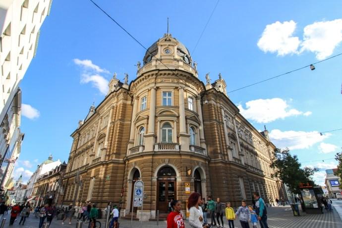Post Office, Guide to Visiting Ljubljana, Slovenia