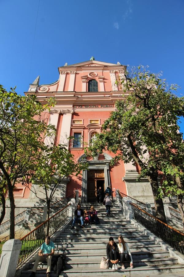 Franciscan Church, Guide to Visiting Ljubljana, Slovenia