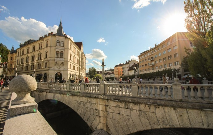 Triple Bridge, Guide to Visiting Ljubljana, Slovenia
