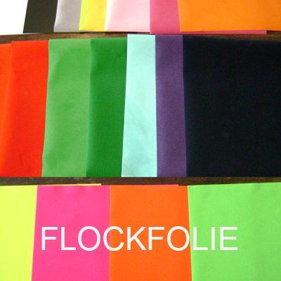 Flockfolie flockedfoil diverse effen kleuren Politape Cityplotter Zaandam