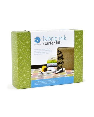 Silhouette starterset textiel inkt textielverf fabric ink starter kit KIT-INK 814792011805 Cityplotter Zaandam