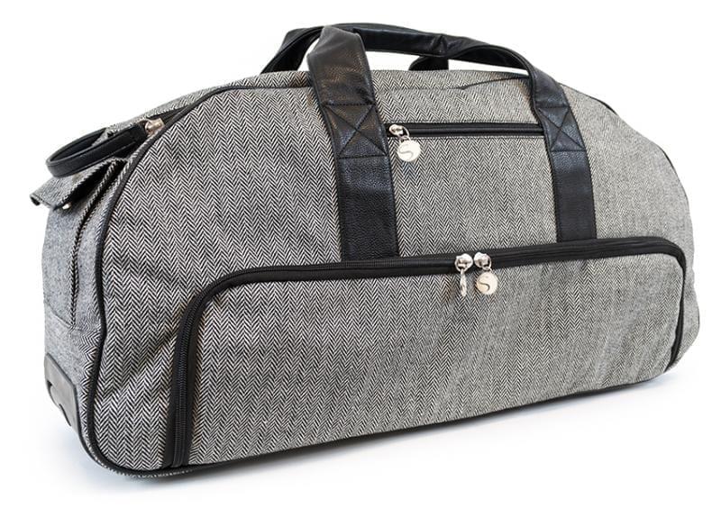 Silhouette Cameo tas Tweed Rolling Tote Grijs Grey voor Cameo en Laptop TOTE-CAM-TWD-3T 814792013373 Cityplotter Zaandam