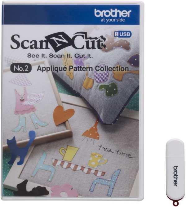 BROTHERSCANNCUT 3D Paper Craft Pattern Collection NO.2 50 desings CAUSB2 (XF7565-001) 4977766731089 Cityplotter Zaandam