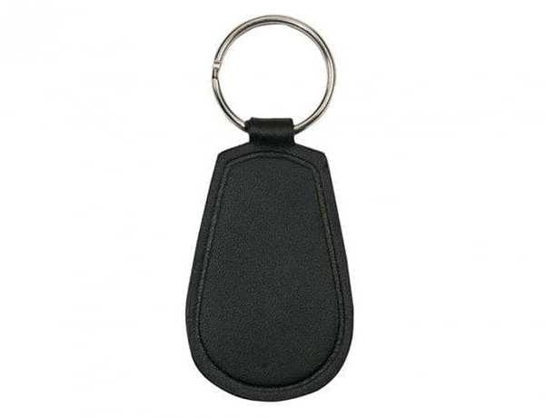Sleutelhanger sleutelhangers leer zwart onbedrukt Key Harness Leather black lanyard keysign Cityplotter Zaandam