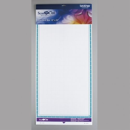 BROTHER SCANNCUT SNIJMAT MEDIUM PLAKKENDE MAT 305mm x 610mm middle tack adhesive mat 12 X 24 INCH CAMATM24 4977766756440 Cityplotter Zaandam
