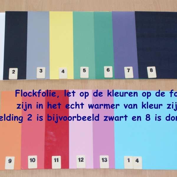 Flockfolie 14 VOORDEELPAKKET SALE Cityplotter Zaandam