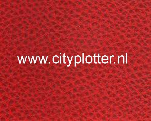 Flexfolie speciaal rood leer print heattransfer smooth red leather print Cityplotter Zaandam