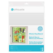 Silhouette Window CLING Material clear MEDIA-CLING-CLR 814792022160