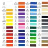 kleurenkaart ritrama mat cityplotter zaandam
