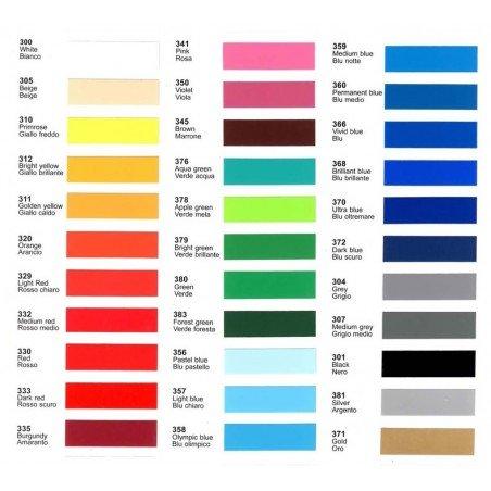 Kleurenkaart Vinylfolies Ritrama Mat RI-Mark M300 serie Cityplotter Zaandam