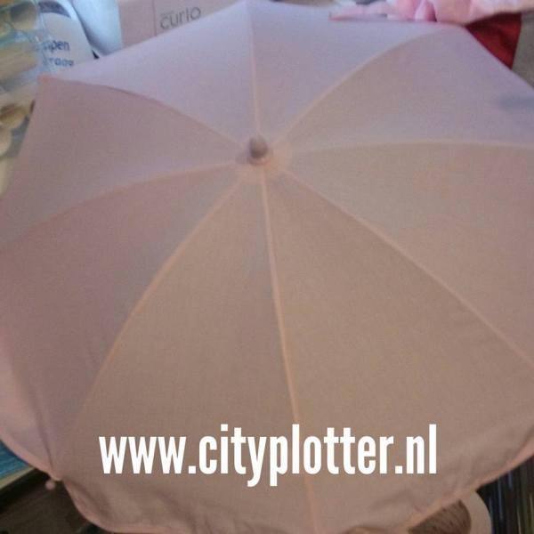 parasol roze of zwart cityplotter zaandam
