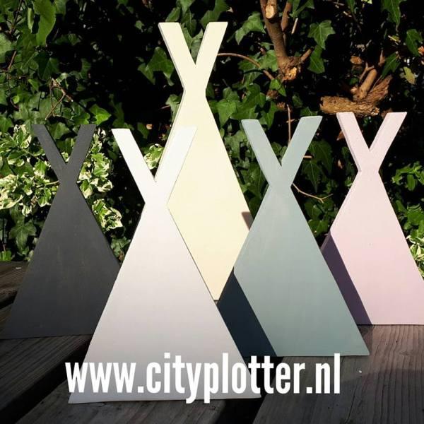 tipi in kleur cityplotter zaandam
