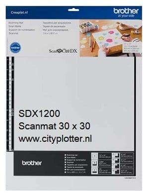 BROTHER SDX1200 Scanncut Scanmat Scanning Mat 305mm x 305mm 12 x 12 inch CADXMATS12 4977766794664 CITYPLOTTER Zaandam