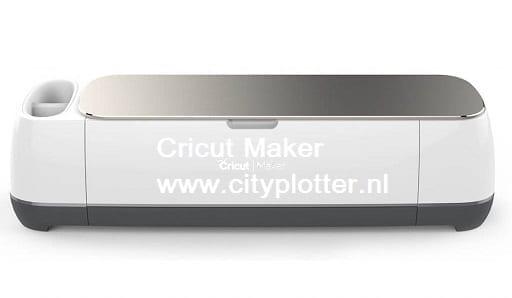 Cricut Maker & GRATIS SUPER 15 PAKKET ( Inclusief11x A4 van diverse kleuren en 2x flex vellen en 2x flockvellen GRATIS ter waarde van 15,10 euro en gratis verzenden) Cityplotter Zaandam