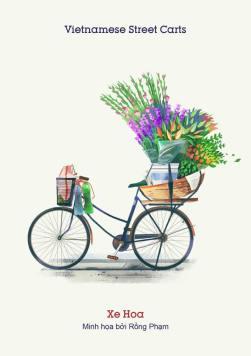 Xe hoa (Flower bike) - Don't they look pretty?