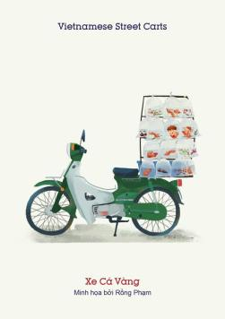 Xe cá vàng (Goldfish bike) - Buy one for your kids but don't let them flush the fish down the toilet so soon.