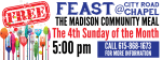 Feast Community Meal for August 23, 2020