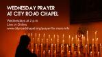 Wednesday Prayer at City Road Chapel