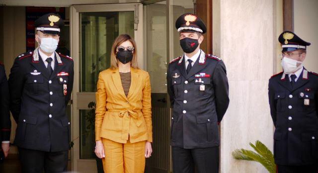 il-prefetto-roberta-lulli-in-visita-al-comando-provinciale-dei-carabinieri-di-vibo-valentia-[foto]