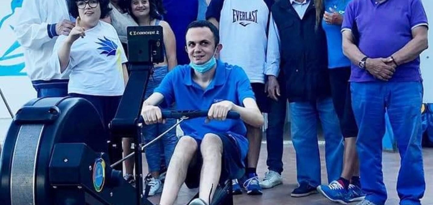 club-nautico-paradiso-e-panathlon-messina:-progetto-dedicato-agli-atleti-disabili,-acquistato-un-remoergometro