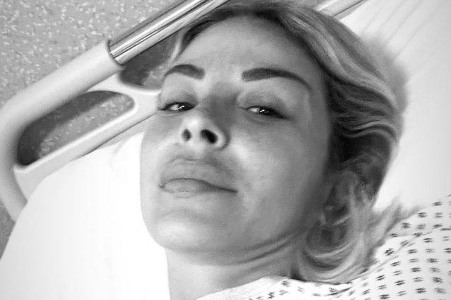 """sabrina-ghio-ricoverata-in-ospedale:-""""devo-essere-operata,-ho-paura"""""""
