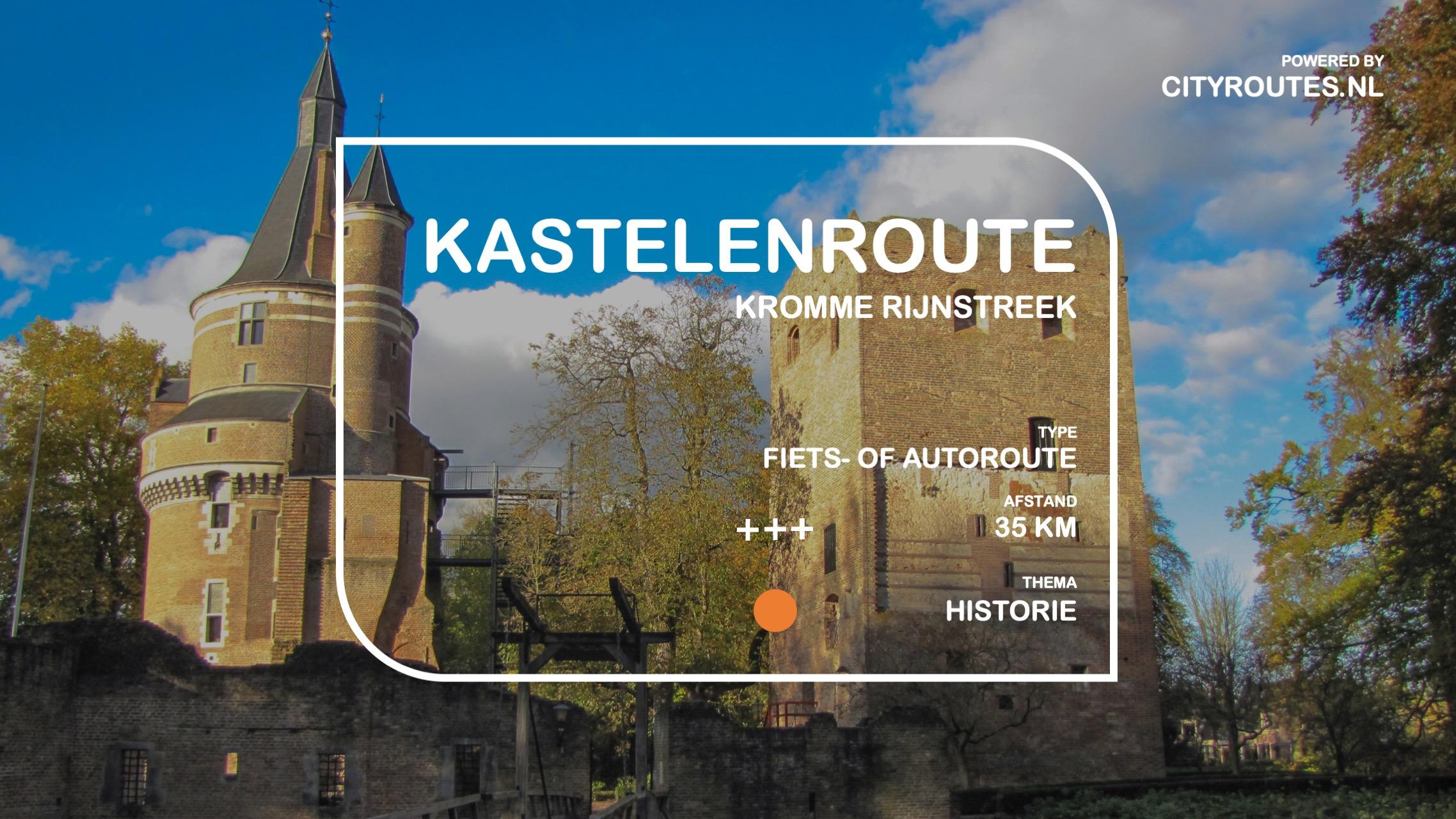 Gratis Kastelenroute Kromme Rijnstreek