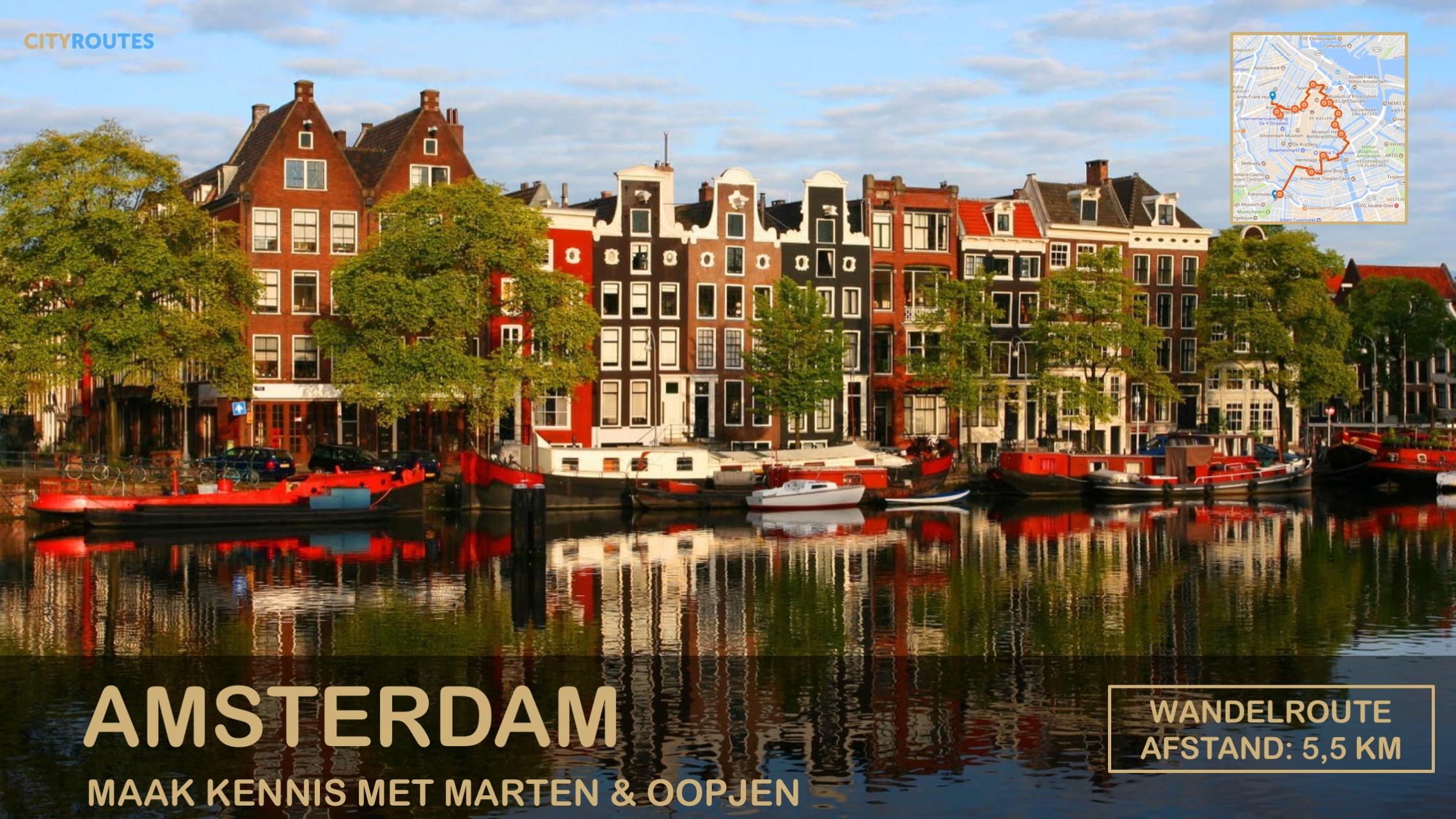 Gratis stadswandeling Amsterdam Cityroutes