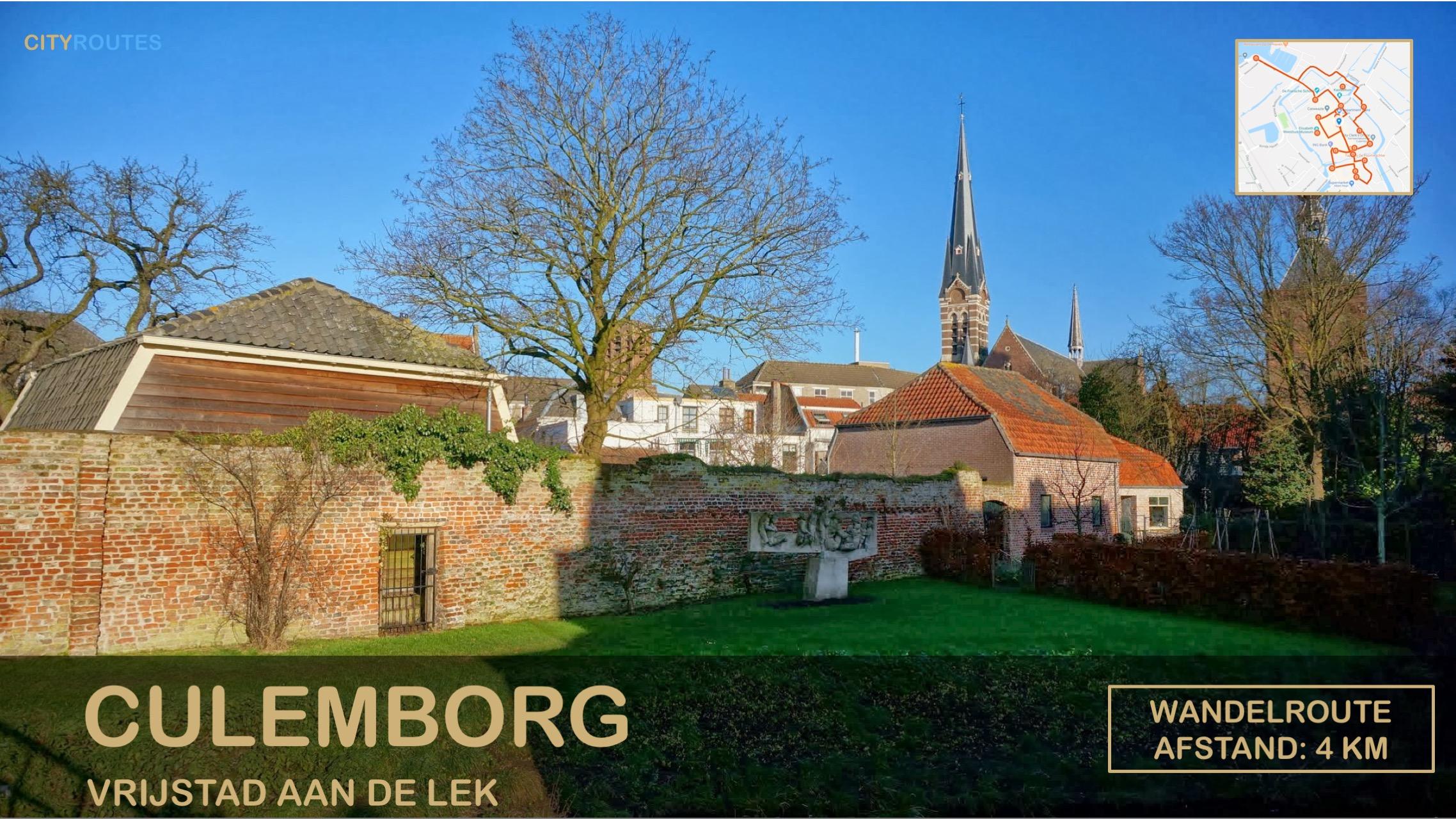 Gratis stadswandeling Culemborg Cityroutes