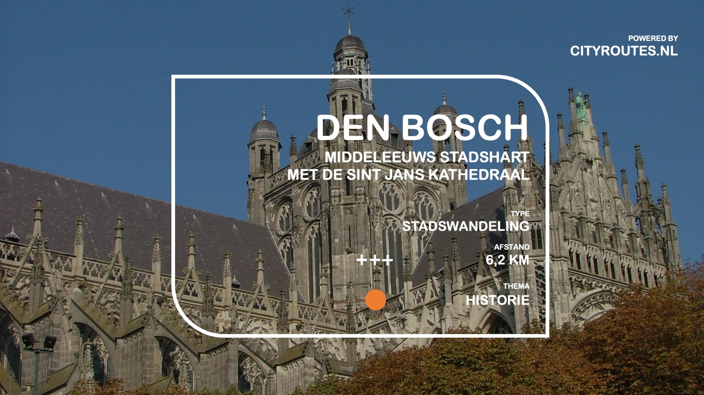 Gratis stadswandeling Den Bosch