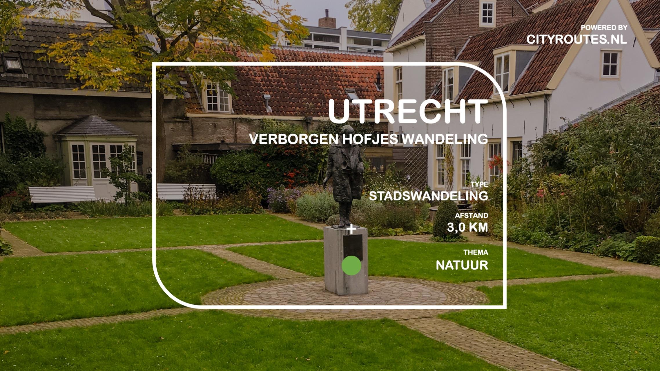 Gratis stadswandeling Utrecht verborgen hofjes