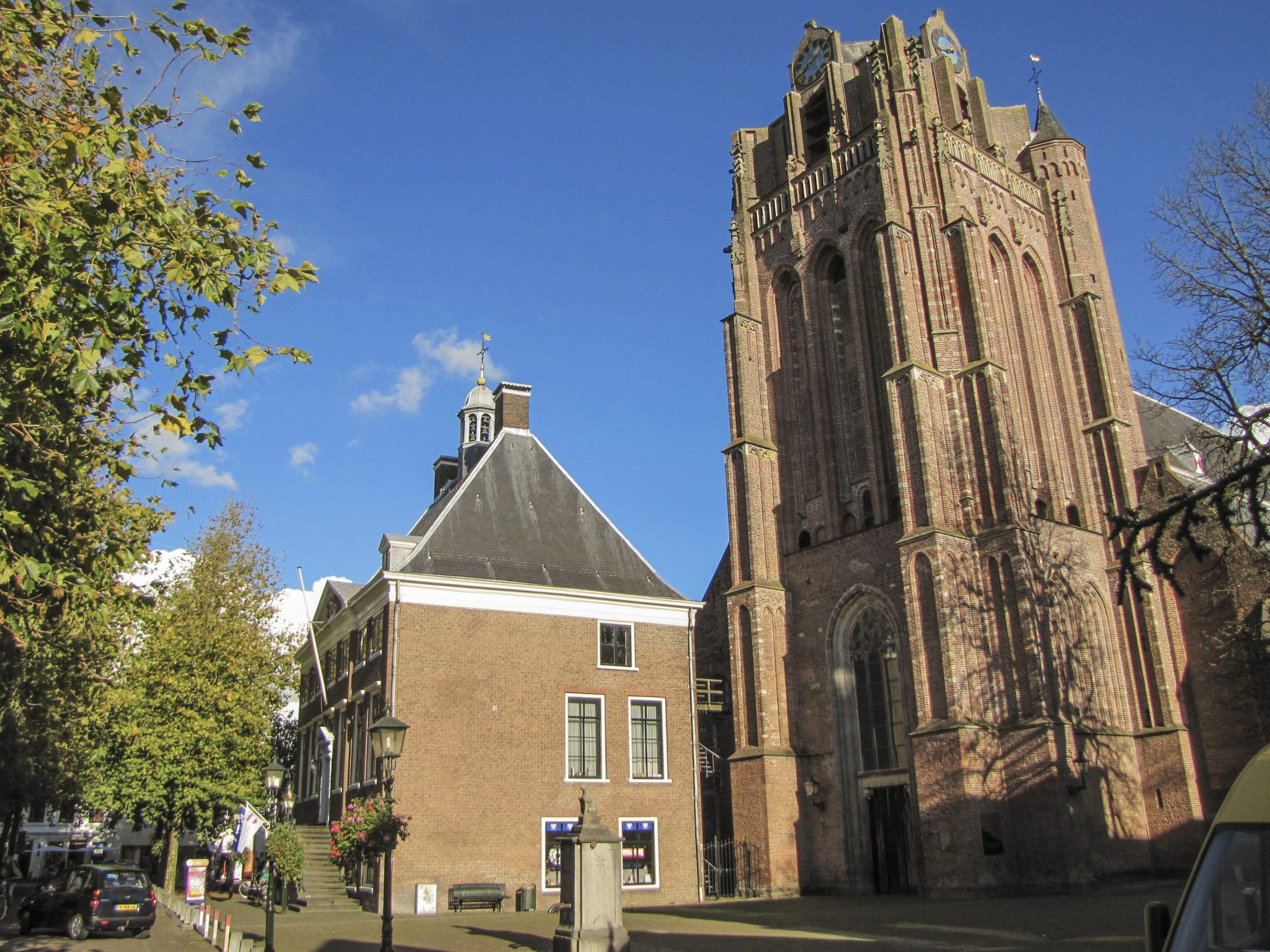 Grote Kerk en Stadhuis Wijk bij Duurstede