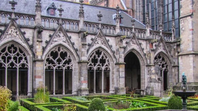 Pandhof Domkerk Domplein Utrecht