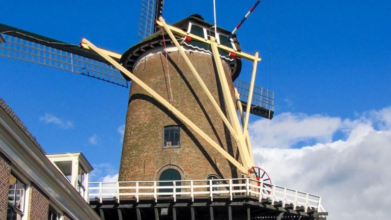 Walpoortmolen Rijn en Lek Wijk bij Duurstede Dorestad Leuterpoort